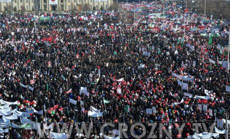 22 января в Грозном пройдет митинг поддержки Рамзана Кадырова